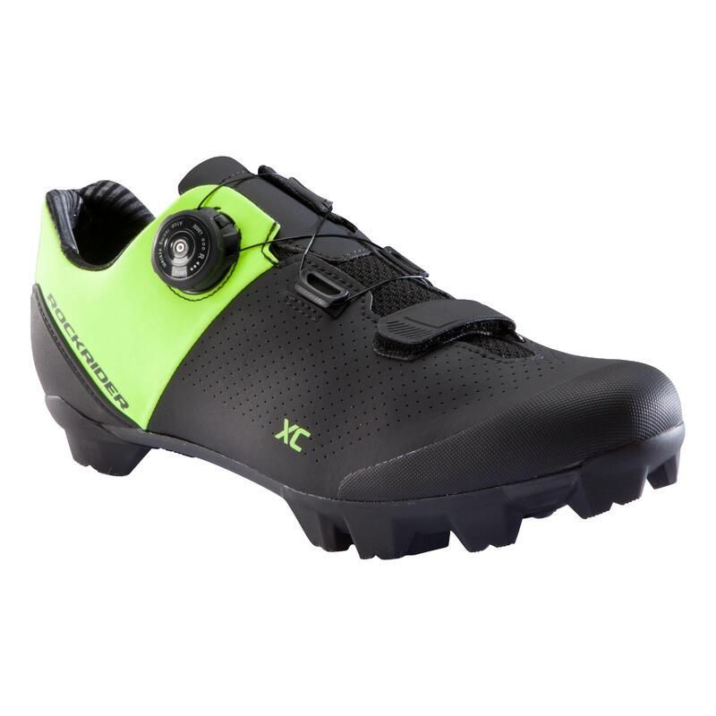 XC 500 Mountain Bike Shoes - Neon