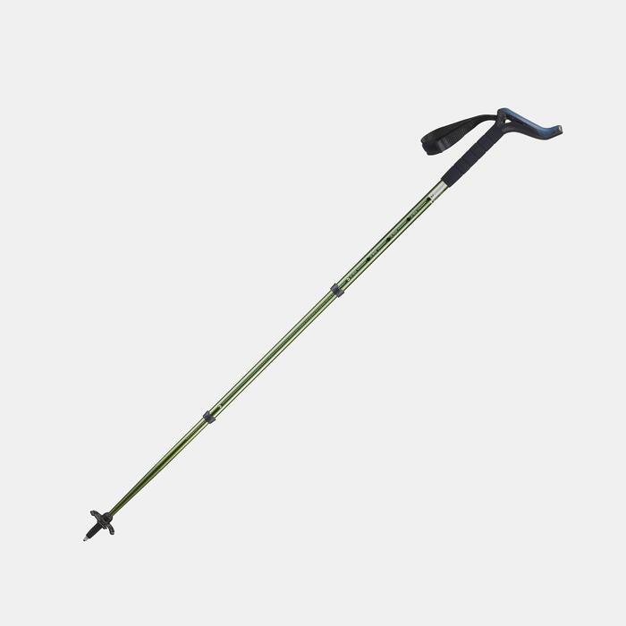 1 bâton ergonomique de randonnée nature - A300 vert