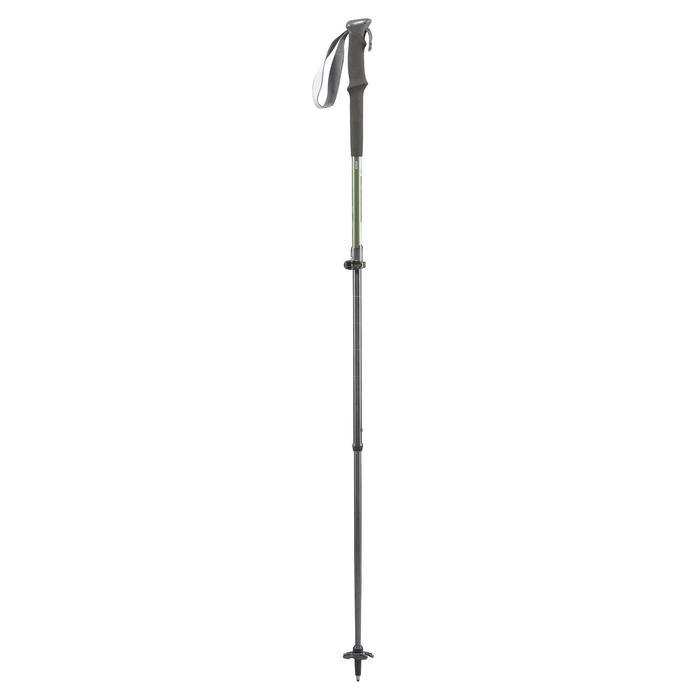 1 Mountain Walking Pole with fast and precise adjustment - MH500 - Green