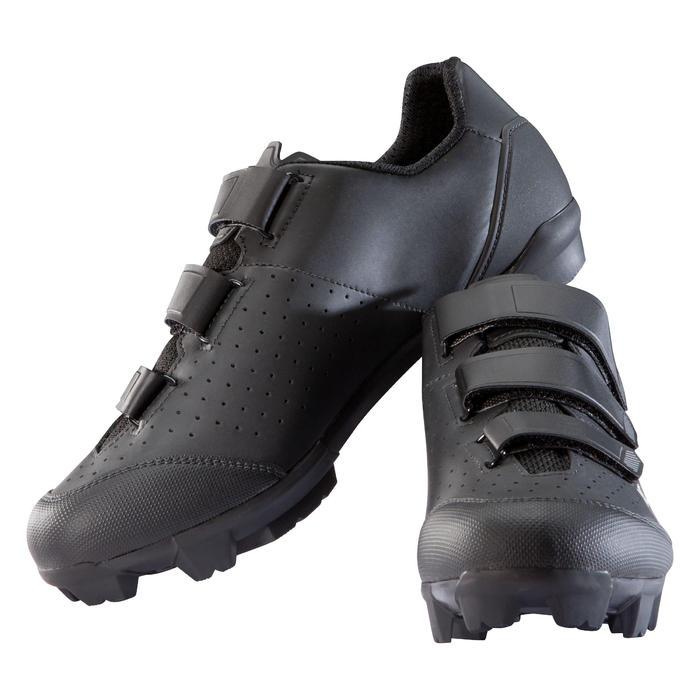 MTB schoenen cross country XC 100 zwart