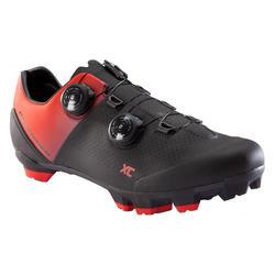 Zapatillas MTB rockrider XC 900 Rojo Negro
