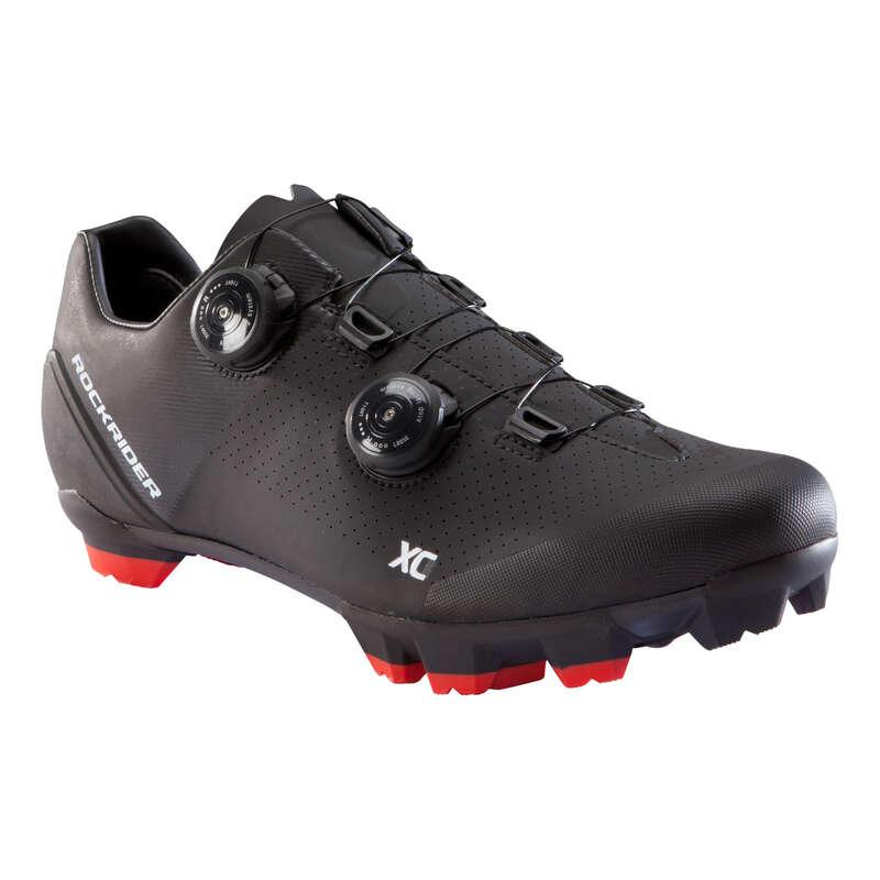 XC MTB SHOES Cycling - XC 900 MTB Shoes - Black ROCKRIDER - Cycling