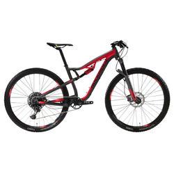 """Bicicleta de Montaña Rockrider XC 100 S 29"""" 12V Rojo y Negro"""