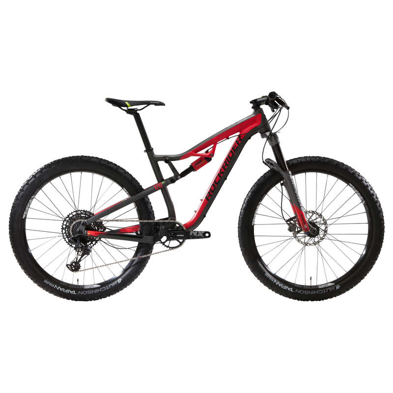 BICICLETĂ MTB CROSS COUNTRY ADULT Ciclism - Bicicletă MTB XC 100 S 12v ROCKRIDER - Biciclete mountain bike