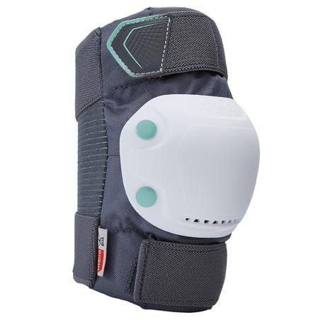 Set 3 protecciones para patines para adulto FIT500 gris peppermint