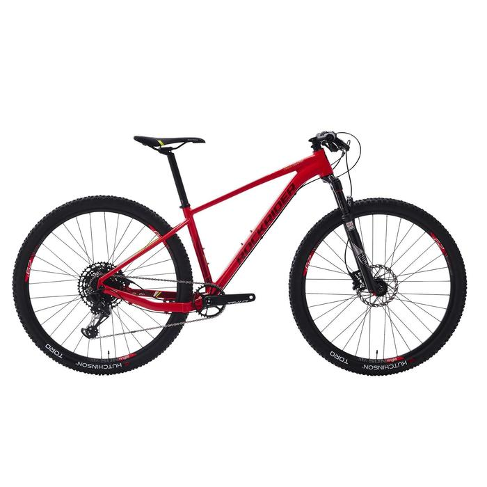 "Cross country mountainbike XC 500 29"" SRAM Eagle 1x12-speed rood"