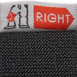 Ensemble 3 protections patin adulte FIT500 noir gris