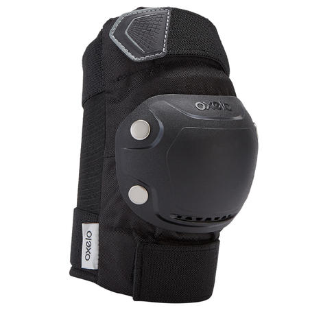 Ensemble 3 protections patin adulte FIT500 noir gris