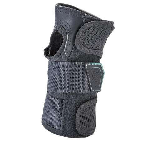 Inline Skate Protection Set Fit500 Grey - Oxelo
