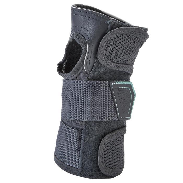 Beschermers voor volwassenen set van 3 FIT500 grijs/mint