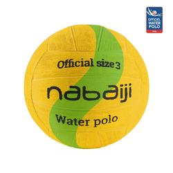 BALLON WATER POLO 500 TAILLE 3 JAUNE VERT NEW