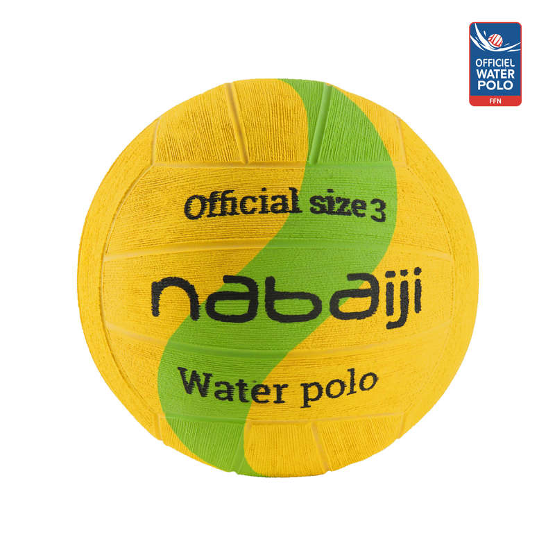 ECHIPAMENT NIVEL MEDIU Inot, Aquagym, Waterpolo - Minge water polo 500 M3 Galben WATKO - Water polo