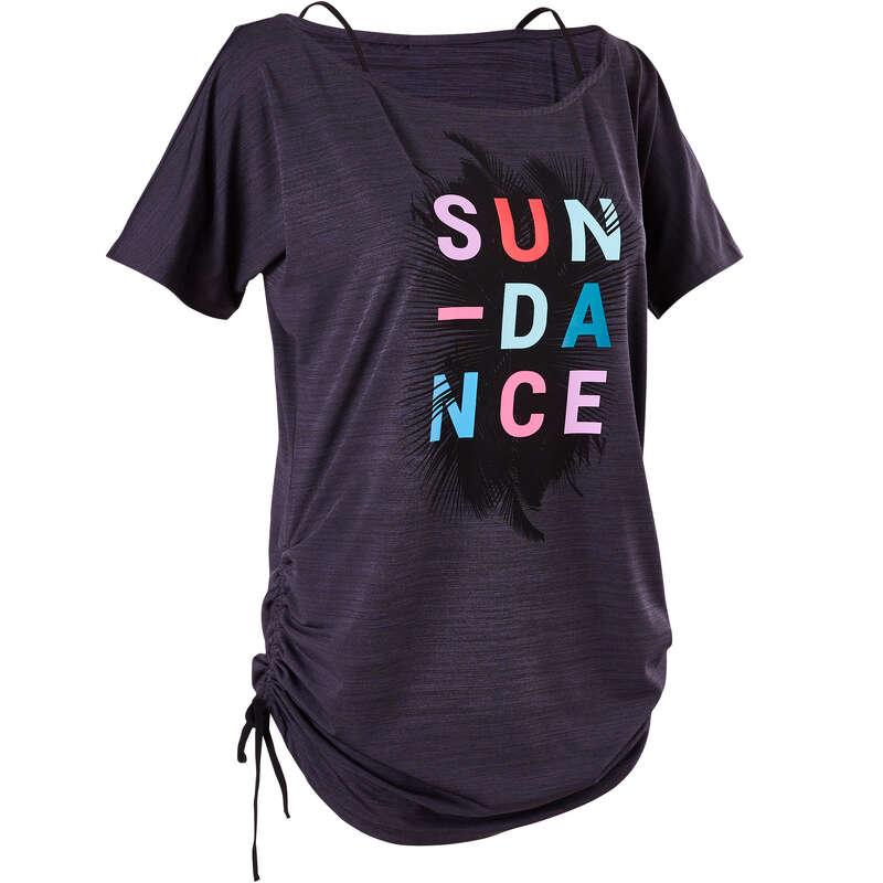 FITNESS DANCE WOMEN APPAREL - Women's Fitness Dance T-shirt DOMYOS