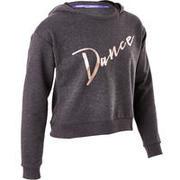 Siv plesni pulover za deklice