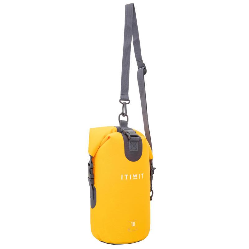 Waterproof Dry Bag 10L - Yellow