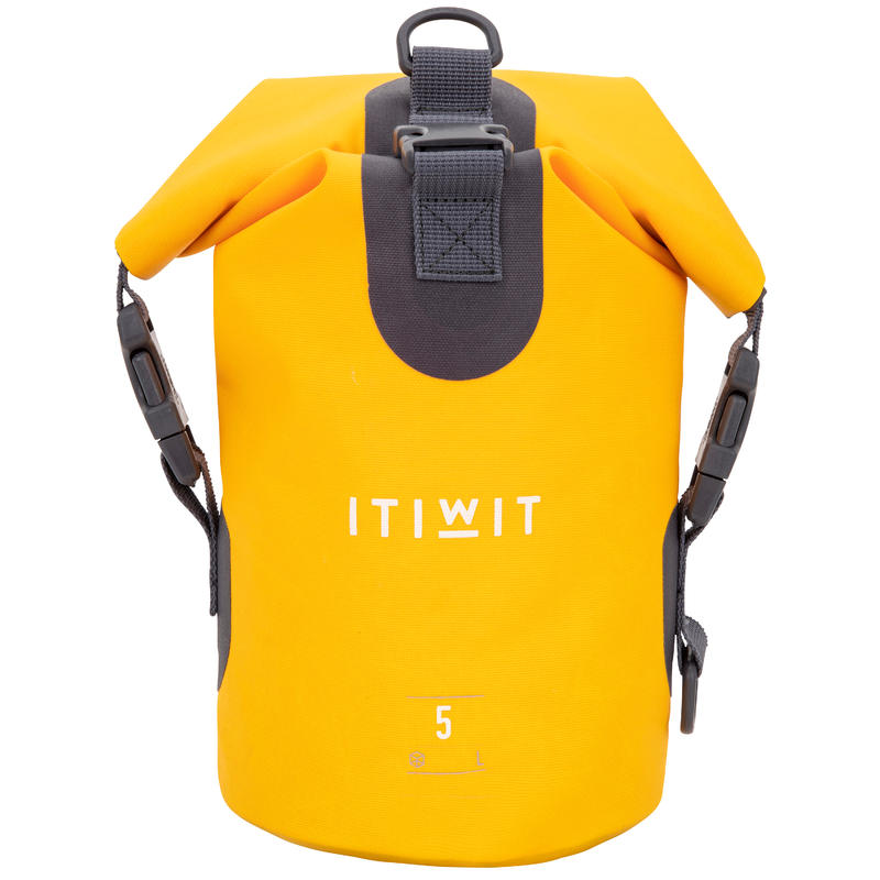 Waterproof Dry Bag 5L - Yellow