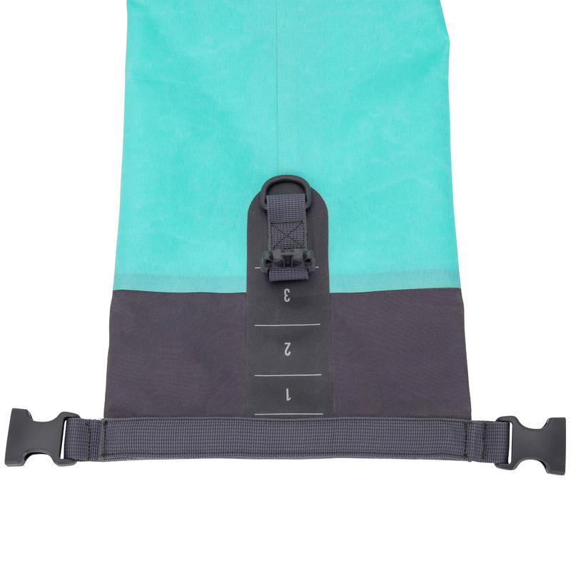 กระเป๋าดัฟเฟิลกันน้ำขนาด 10 ลิตร (สีเขียว)