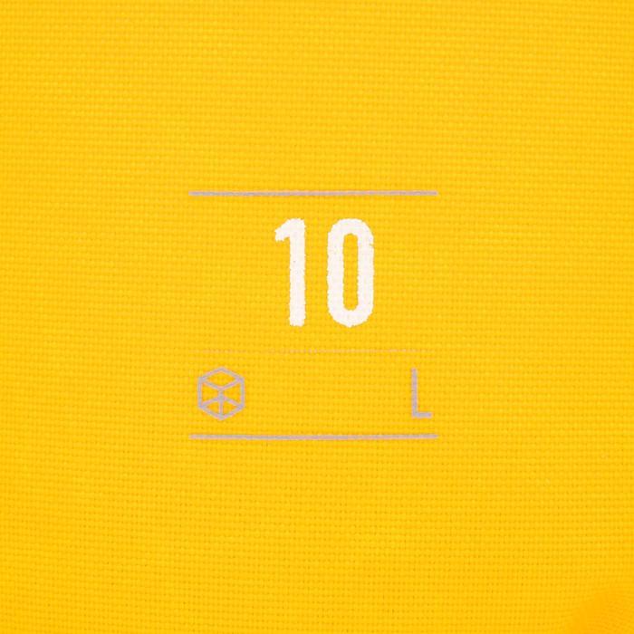 Waterdichte duffle bag 10 l geel