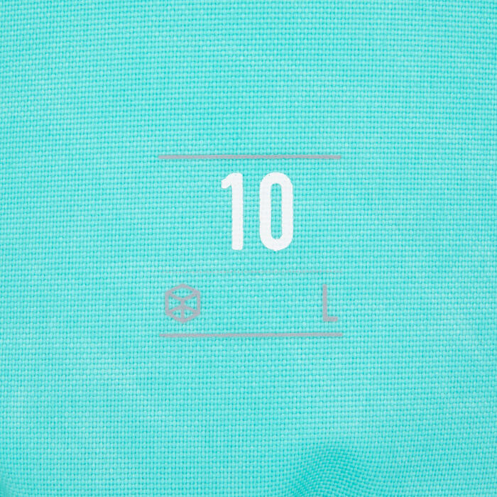 Waterdichte plunjezak 10 l groen