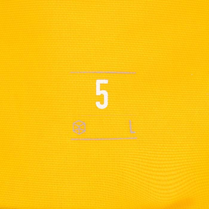 Waterdichte duffle bag 5 l geel