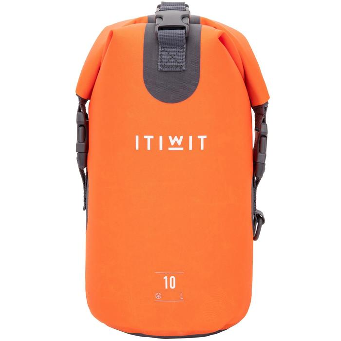 Waterproof Dry Bag 10L - Orange