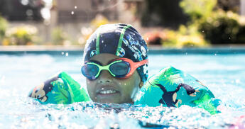 teach your child to swim at home