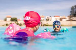 Child development through swimming