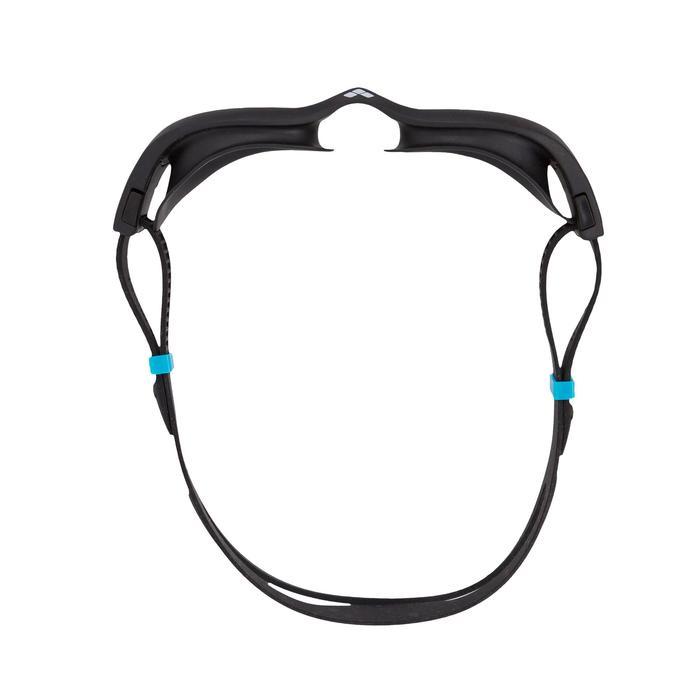 Zwembril The One grijs/zwart getinte glazen