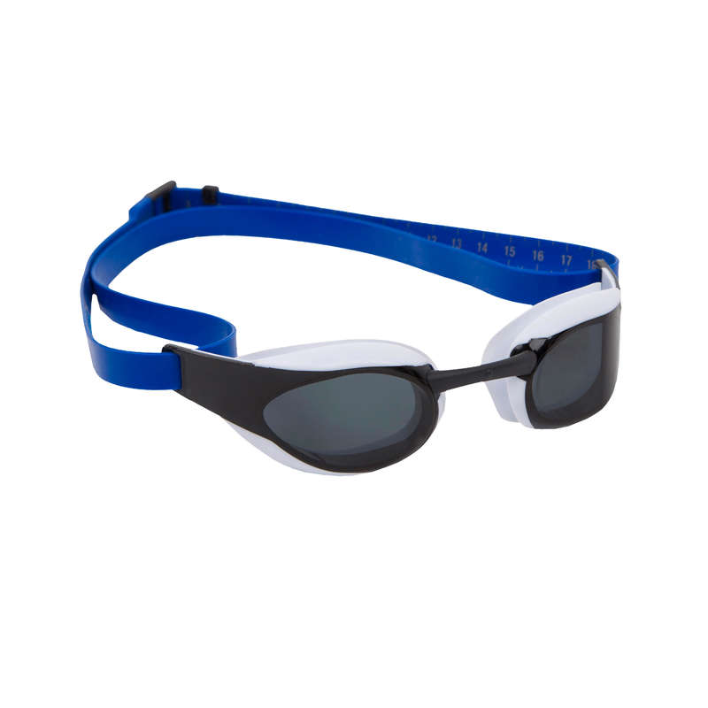 SWIMMING GOGGLES OR MASKS Swimming - FASTSKIN ELITE - BLUE SMOKE SPEEDO - Swimming Accessories