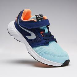 CHAUSSURES ATHLETISME ENFANT RUN SUPPORT SCRATCH BLEUES CORAILS