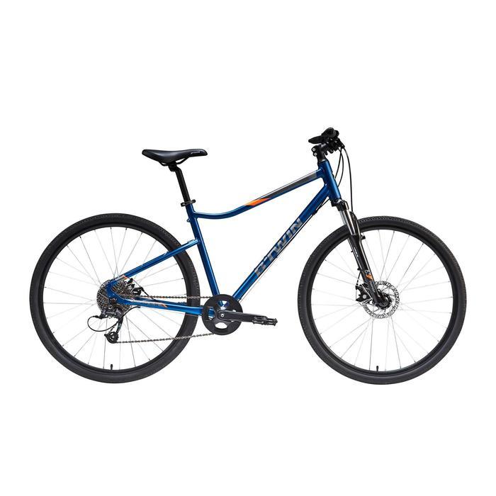 """Cross Bike 28"""" Riverside 500 Alu blau"""