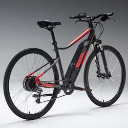 "E-Bike Cross Bike 28"" Riverside 500 E grau/rot"