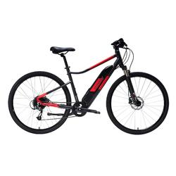 "E-Bike 28"" Cross Bike Riverside 500E 418Wh Alu grau/rot"