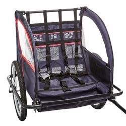 Fietskar en kinderwagen. De fiets aanhangwagen voor jou!