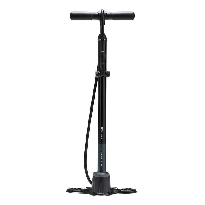 Fahrradpumpe Standpumpe 900 schwarz