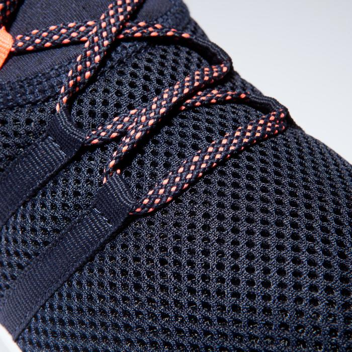 Cardiofitness schoenen 120 mid voor dames blauw