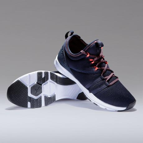 Chaussures fitness cardio-training 120 mid femme bleu. Previous. Next f8104191b1a