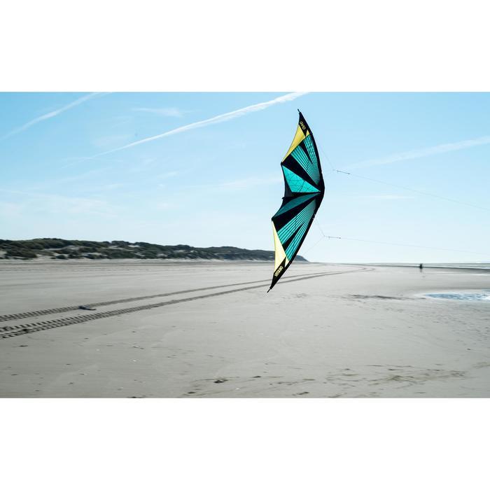 Cometas acrobáticas Playa Orao FEEL'R 180 Negro/Turquesa
