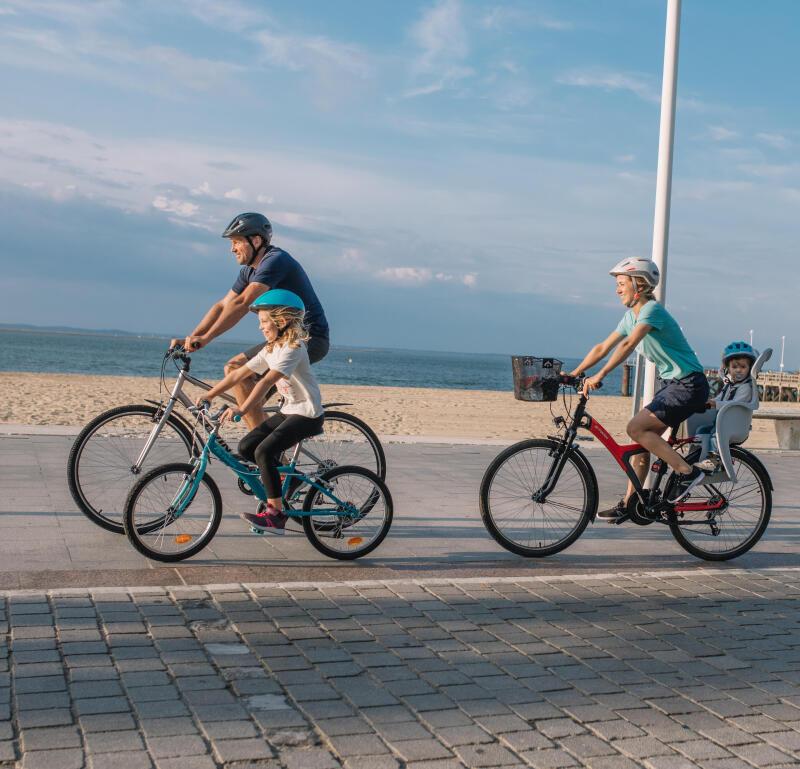 Comment randonner en vélo tout chemin avec votre enfant ?