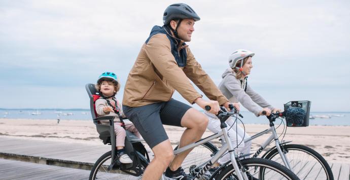 Como escolher um porta criança para a bicicleta