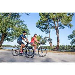 BICICLETA DE TREKKING RIVERSIDE 500 GRIS