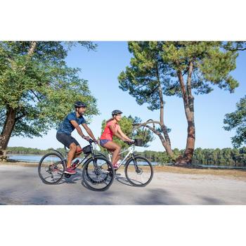 Hybride fiets Riverside 500 grijs