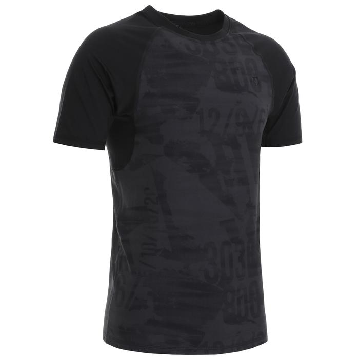 500 Cross Training Compression T-Shirt - Carbon Grey