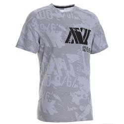 交叉訓練T恤500 - 灰色