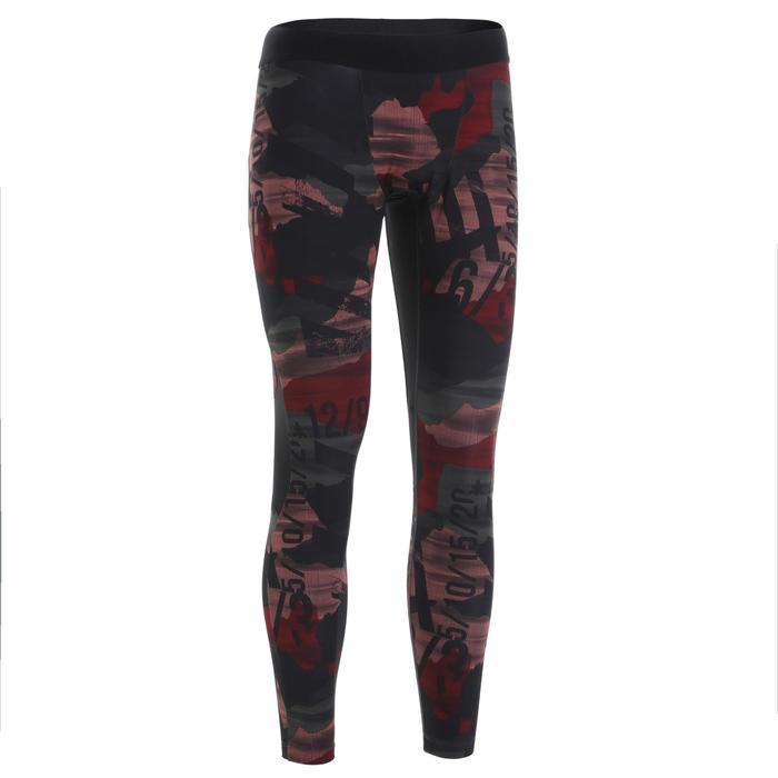 500 Cross-Training Leggings - Garnet Red