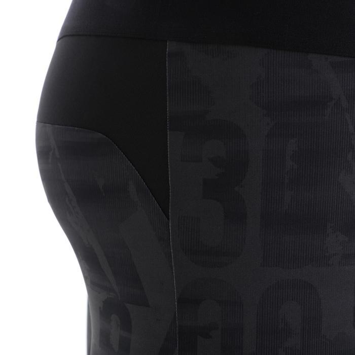 交叉訓練緊身褲500 - 碳灰色