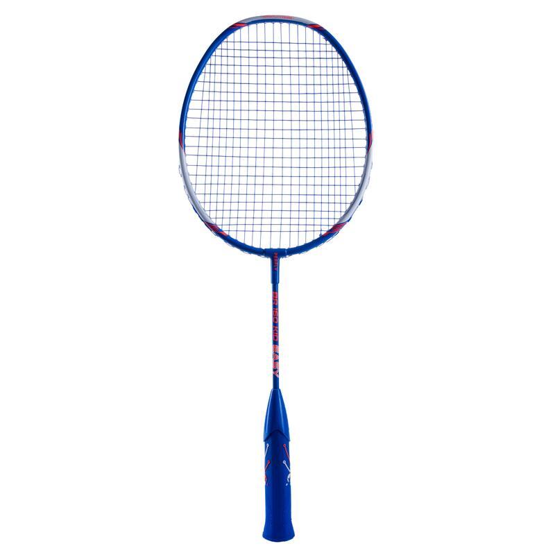 Racchetta badminton junior BR160 EASY GRIP azzurra