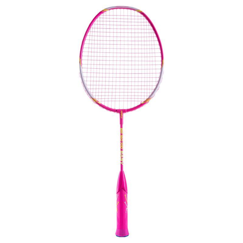 Raquete de Badminton BR160 Easy Grip Criança Rosa