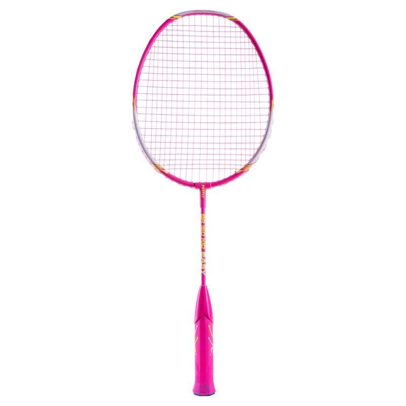 KIDS BADMINTON RACKET Badminton - BR 160 KID EASY GRIP PINK PERFLY - Badminton Rackets