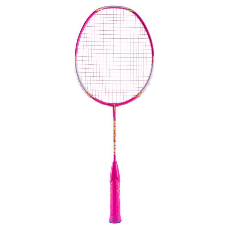 DĚTSKÉ RAKETY NA BADMINTON RAKETOVÉ SPORTY - RAKETA BR160 EASY GRIP RŮŽOVÁ PERFLY - Badminton
